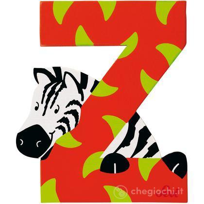 Lettera Z Zebra