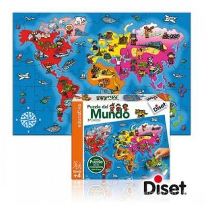 Puzzle Paesi del Mondo 37 pezzi