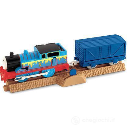 Thomas e il Formaggio Puzzolente - Veicoli Carico a Sorpresa Trackmaster (W3240)