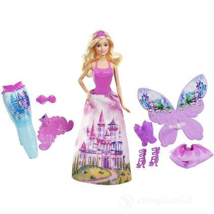 Barbie 3-in-1 Fantasie (CFF48)