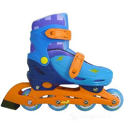 Pattini easy roller regolabili 35/38