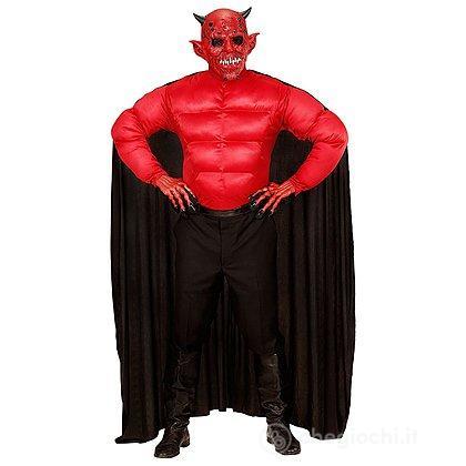Costume Adulto Diavolo Muscoloso M