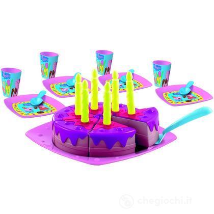 Peppa Pig torta di compleanno con accessori inclusi