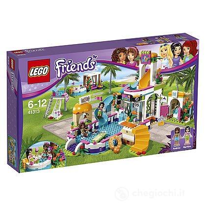 La piscina all'aperto di Heartlake - Lego Friends (41313)