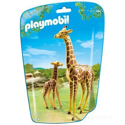 Giraffa con cucciolo (6640)