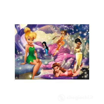 Puzzle 104 pezzi fairies pixie hollow fairies