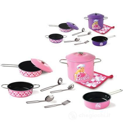 Set pentole metallo Barbie (2642)
