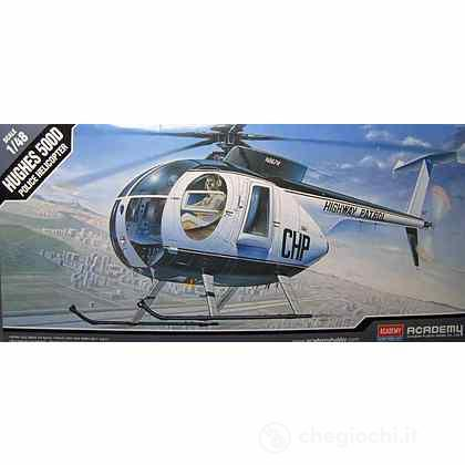 Elicottero Hughes 500d Police Helicopter (AC12249)
