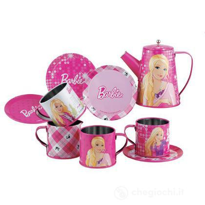 Tea set in metallo (02643)