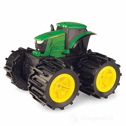Trattore Monster Treads John Deere con ruote giganti (LC46645)