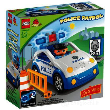 LEGO Duplo - Auto della polizia (4963)