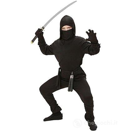 Costume Ninja Nero 5-7 anni