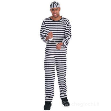 Costume adulto Carcerato L (83646)