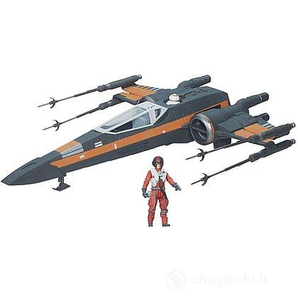 Star Wars VII Veicolo Deluxe X-Wing Fighter (B3953)