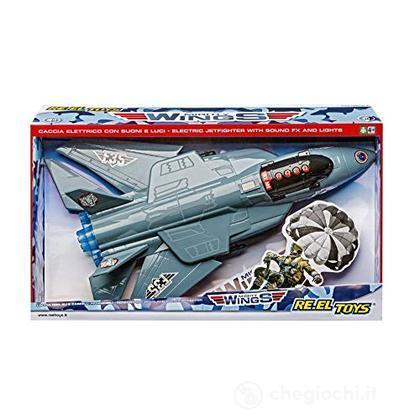 Mighty Wings Caccia Elettronico 48 Cm Con Suoni E Luci