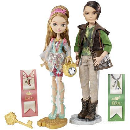 Ashlyn Ella e Hunter Huntsman - Ever After High (BFX06)