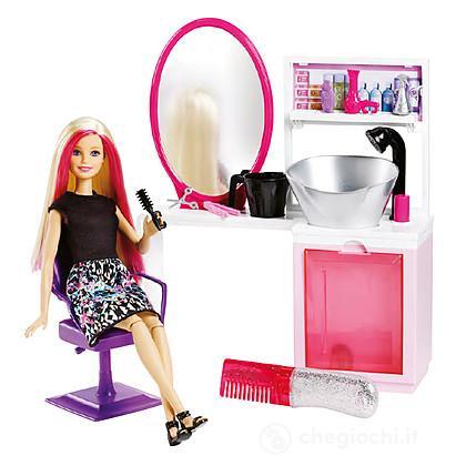 Barbie e il salone del colore dtk05 barbie mattel - Barbie senza colore ...