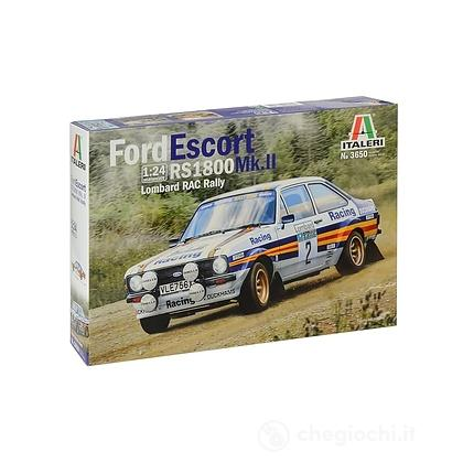 Auto Ford escort RS 1800 MK.II Lombard RAC Rally 1/24 (3650)