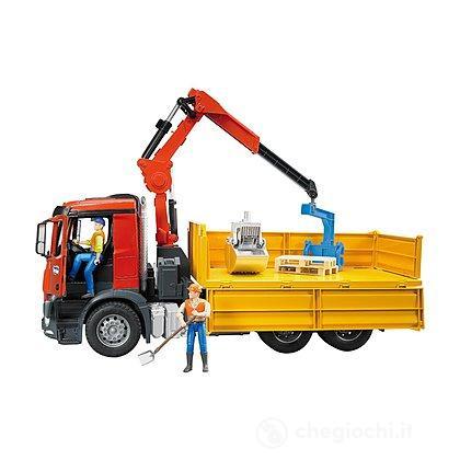 Camion Con Carica Muletto (36510)