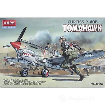 Carro Armato (12456) CURTISS P-40B TOMAHAWK. Scala 1/72 (AC12456)
