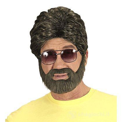 Parrucca e Barba Uomo Castana
