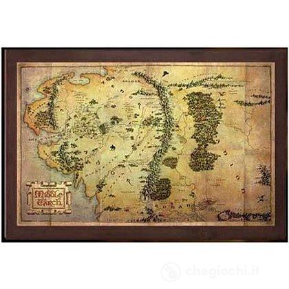 Il Signore degli Anelli: Mappa della Terra di Mezzo (NN1312)