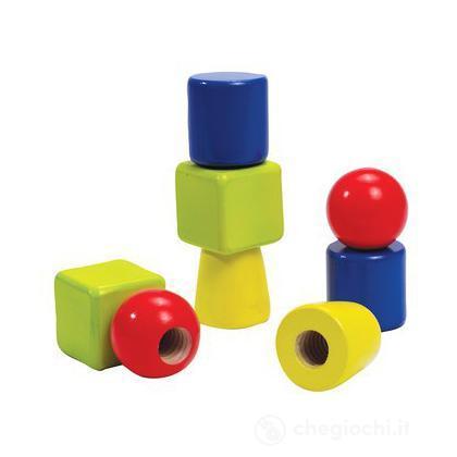 Set costruzioni dadi e bulloni