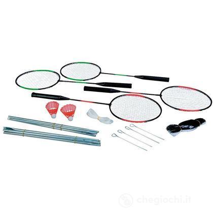 Set badminton 4 racchette e rete (107417659)