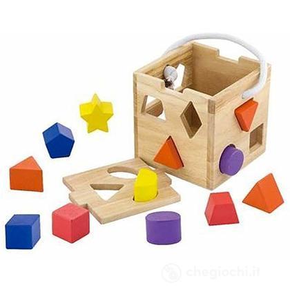 Box Incastri 14,5 cm in legno (VG53659)