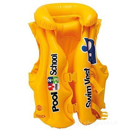 Giubbino salvagente con cinghie pool school (58660)