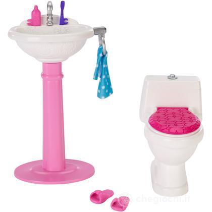 Toilette Set - Arredamenti Basic (CHR36)