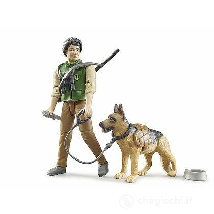 Guardia forestale con cane (62660)