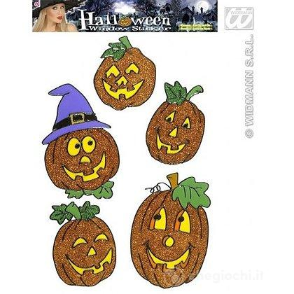 Adesivi Zucca Halloween