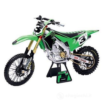 Moto Kawasaki race team KX450 1:6 (49663)