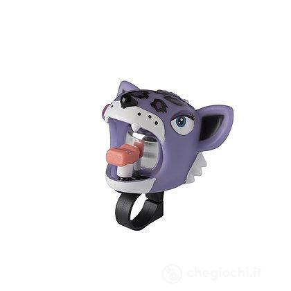 Campanello Crazy Safety Leopardo Viola (520219-20)