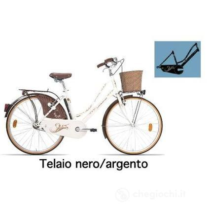 """Bici 26"""" Ferrara Lusso Black/Silver"""