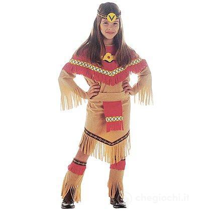 Costume Indiana Squaw 5-7 anni