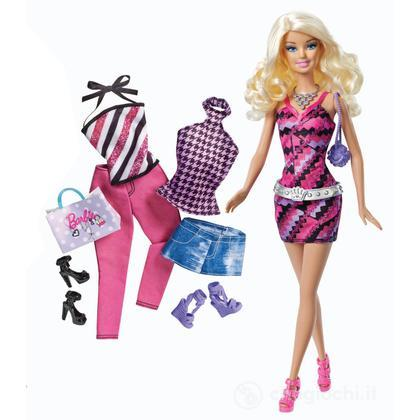 Barbie and Fashion set