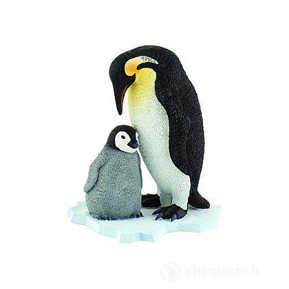 Pinguino Imperatore con cucciolo (63667)
