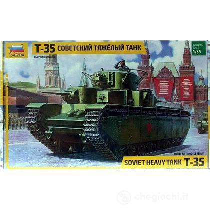 Carro armato T-35 Heavy Soviet tank 1/35 (3667)