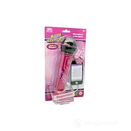 Microfono rosa Con Collegamento Mp3
