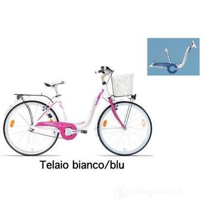 "Bici 26"" Taormina White-Blu"