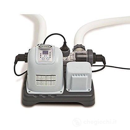 Clorinatore con Sistema E.C.O, Ecosterilizzatore Salino (28670)