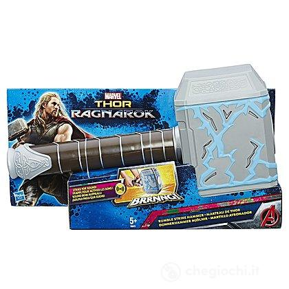 Martello di Thor Forza del Tuono. Marvel Thor Ragnarok (B9975UU4)