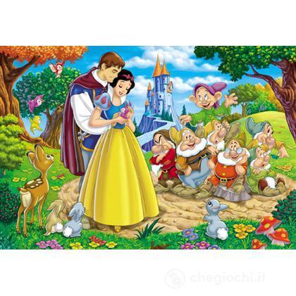 Walt Disney Biancaneve Il Principe 60 Pezzi
