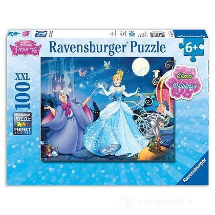 Cenerentola puzzle glitter