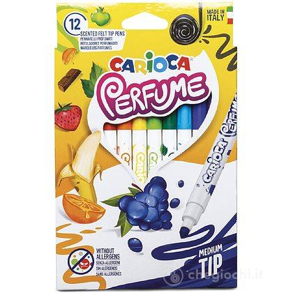 Pennarelli profumati Carioca perfume scatola 12 pezzi