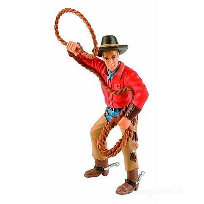 Western - Cowboy con Lazo (80673)