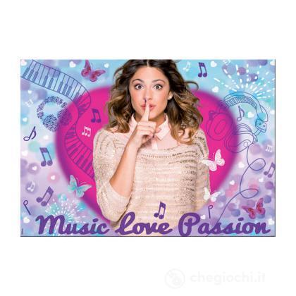 Puzzle Double Face Supermaxi 150 Violetta Music Fun (46737)