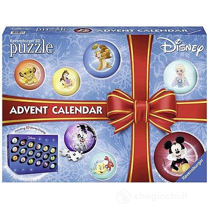 Calendario Avvento Ravensburger.Puzzle Calendario Dell Avvento Disney Classic 11676
